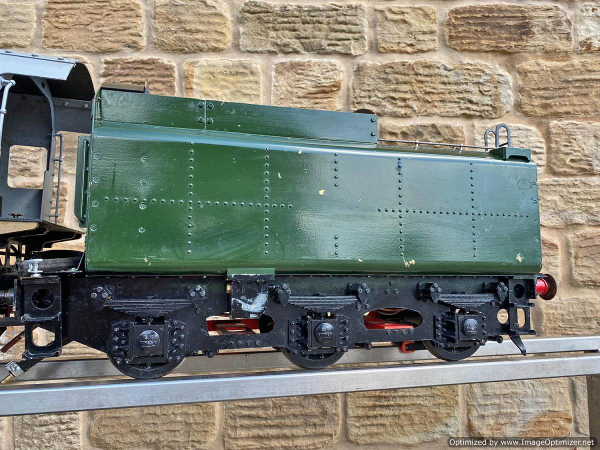 test 5 inch BR 9F Modelworks Live Steam Locomotive for sale (7)