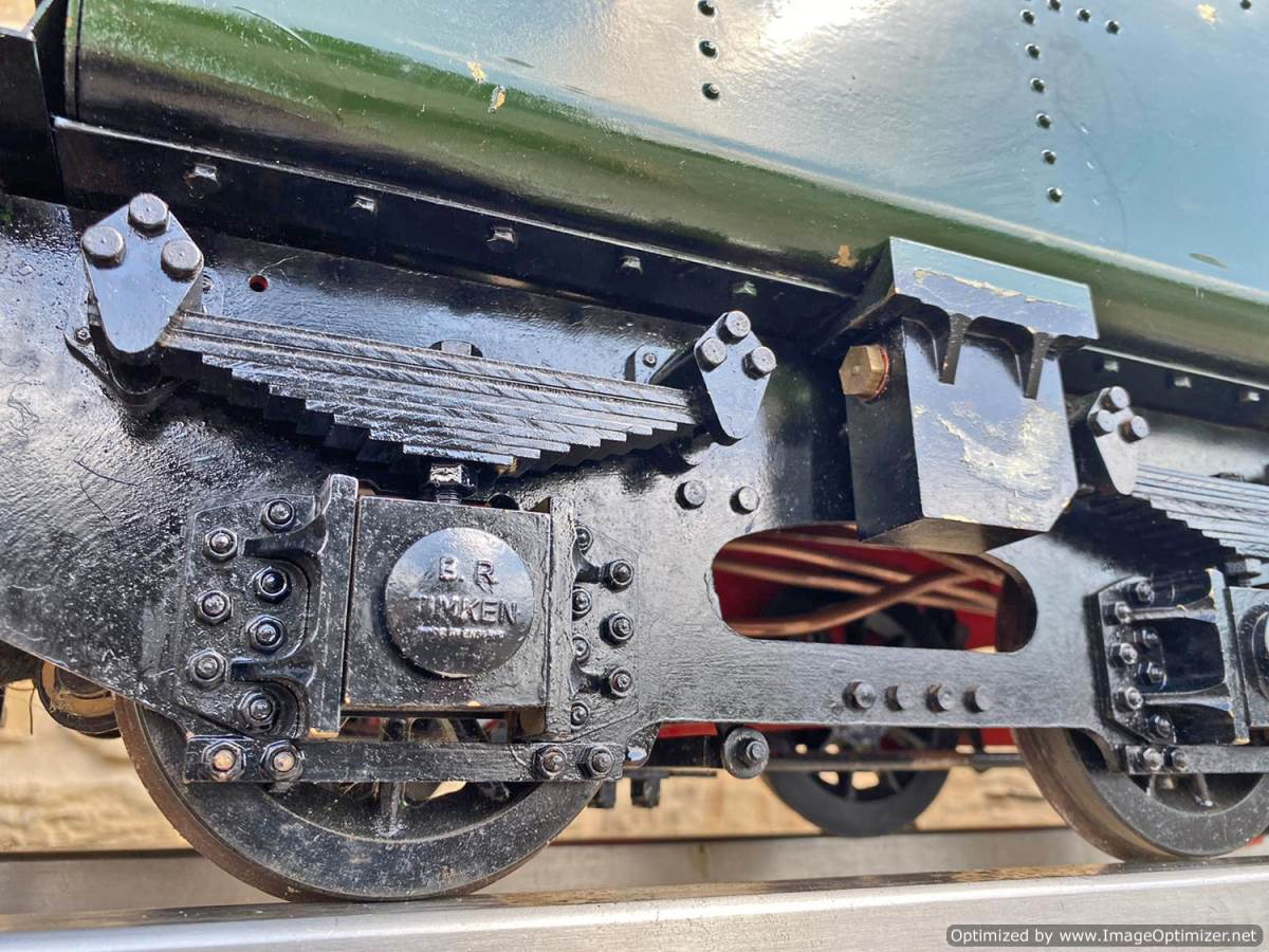 test 5 inch BR 9F Modelworks Live Steam Locomotive for sale (8)