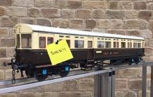 test 5″ GWR Autocoach