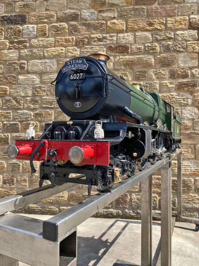 test 5 inch gauge GWR King Class Live Steam model for sale (16)