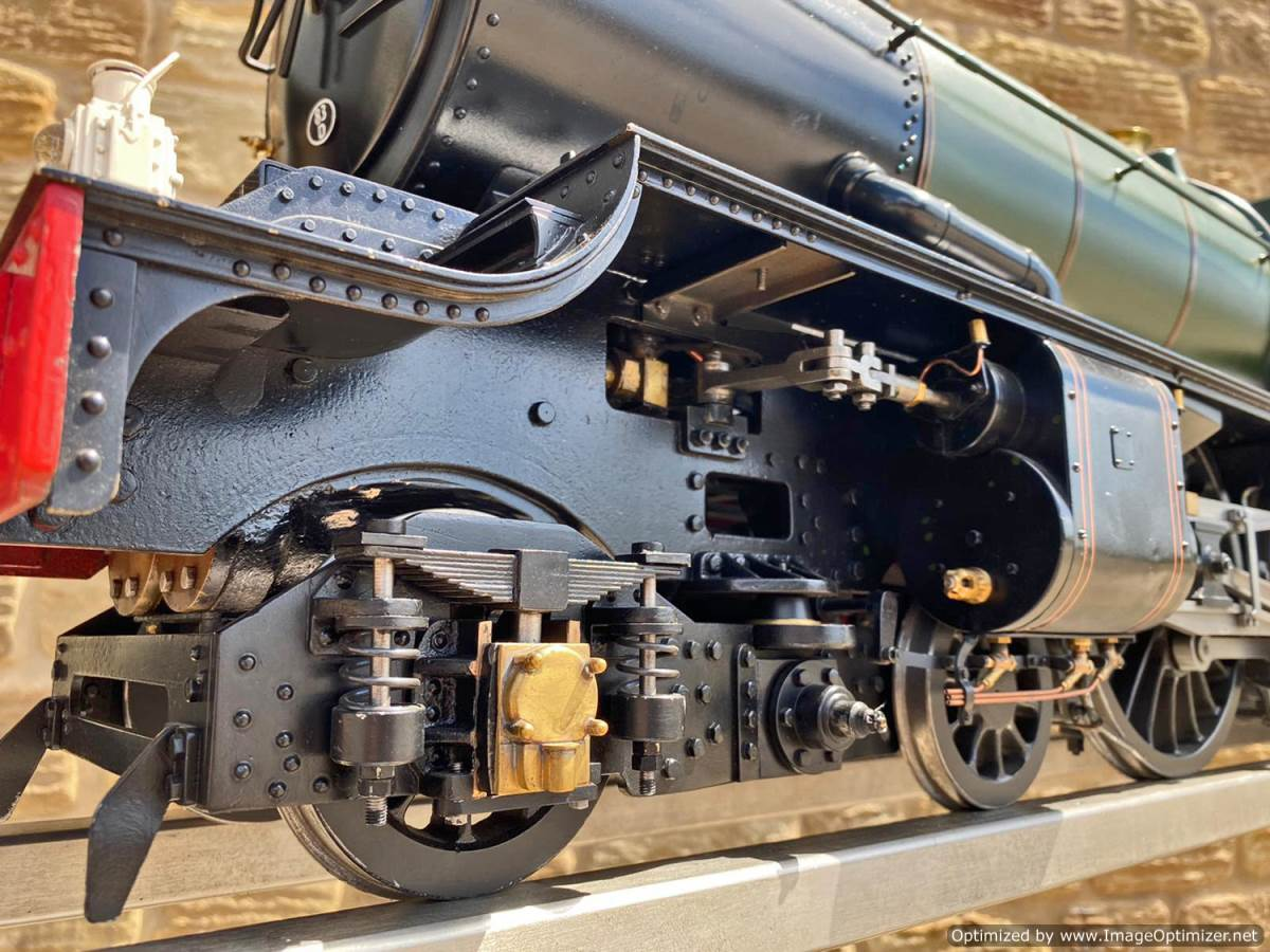 test 5 inch gauge GWR King Class Live Steam model for sale (3)