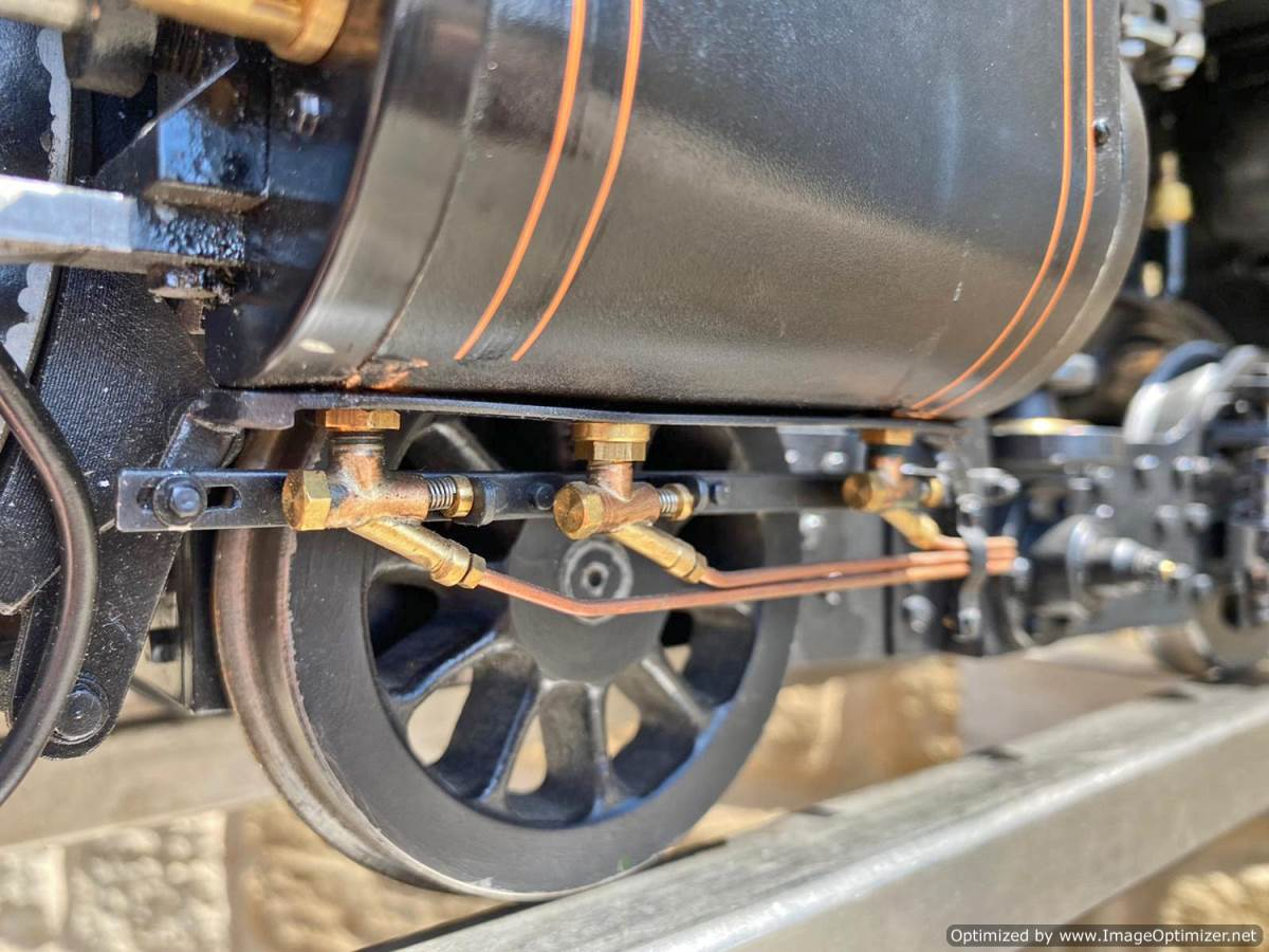 test 5 inch gauge GWR King Class Live Steam model for sale (33)