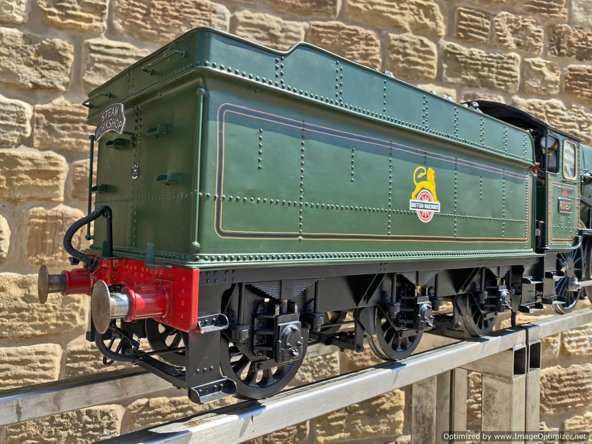 test 5 inch gauge GWR King Class Live Steam model for sale (38)