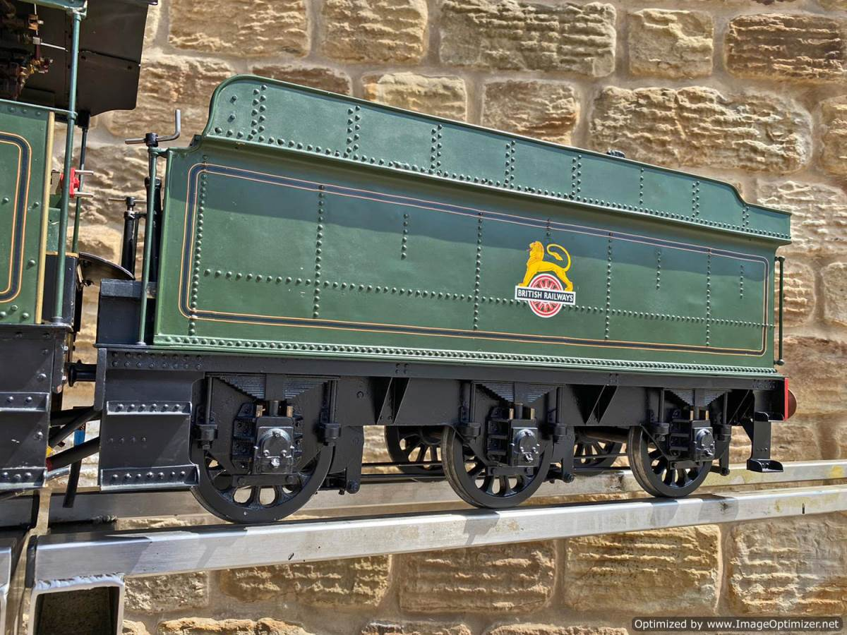 test 5 inch gauge GWR King Class Live Steam model for sale (4)
