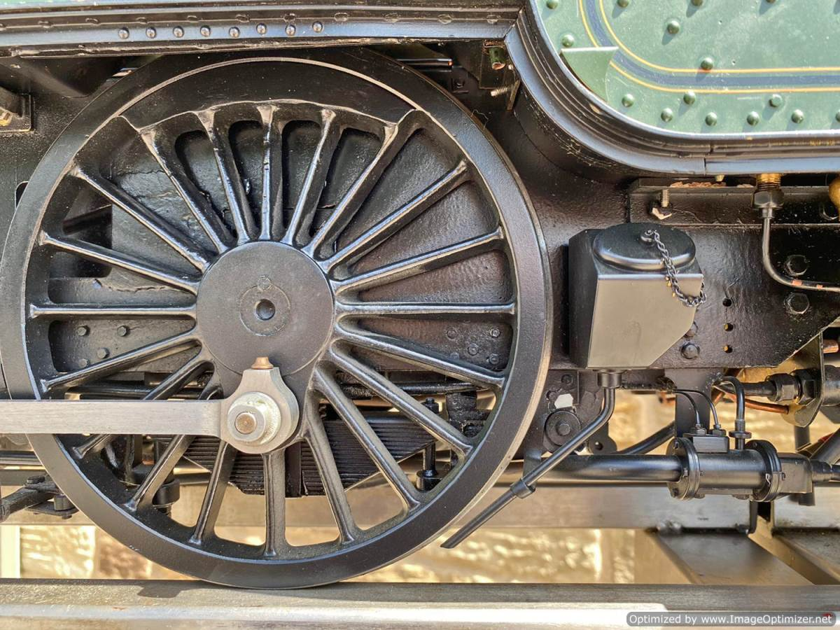 test 5 inch gauge GWR King Class Live Steam model for sale (6)