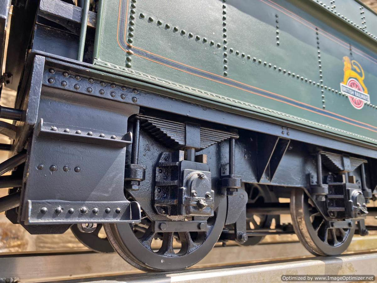 test 5 inch gauge GWR King Class Live Steam model for sale (8)
