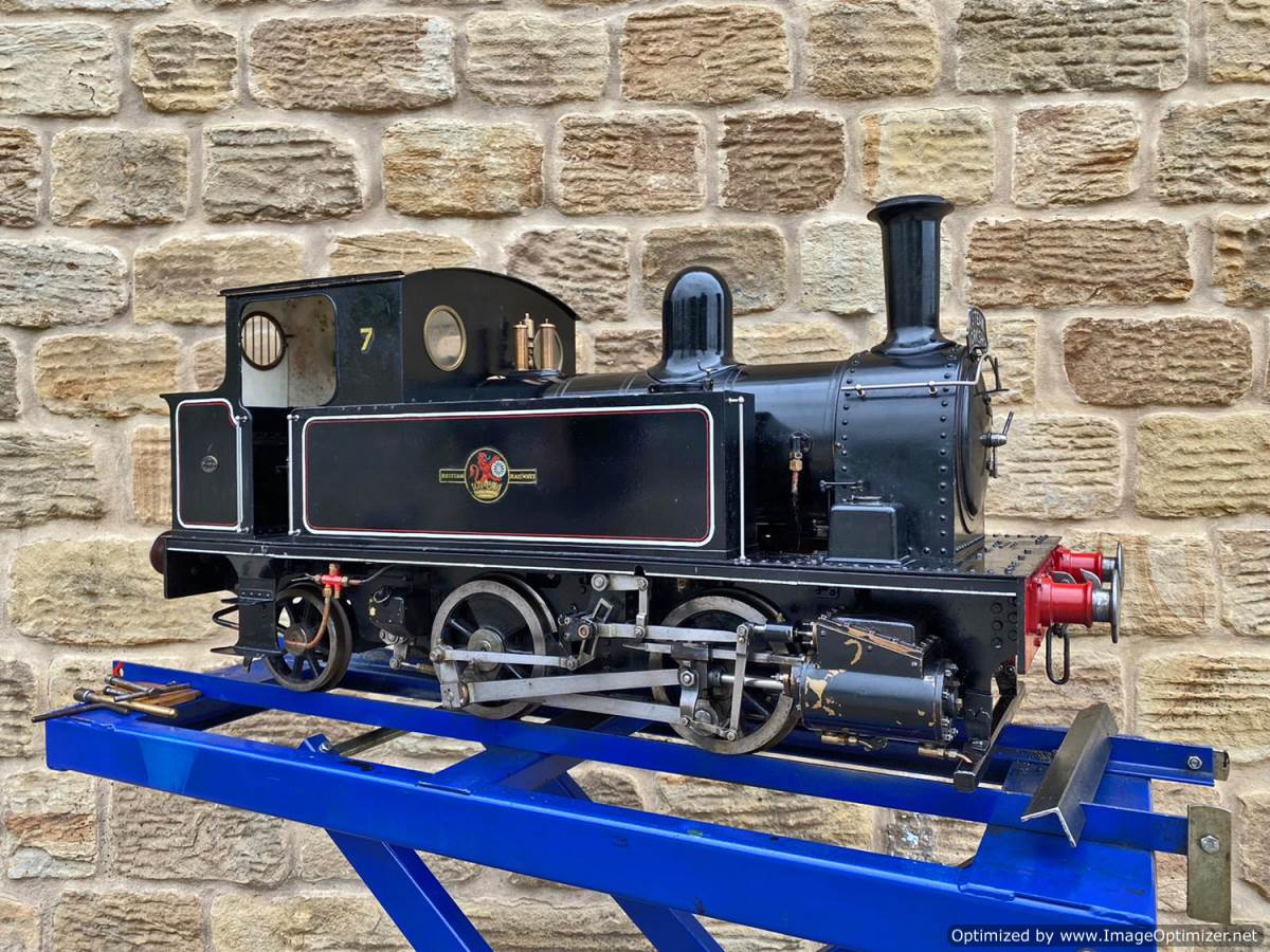 test 7 and a quarter inch Bridget live steam for sale (1)