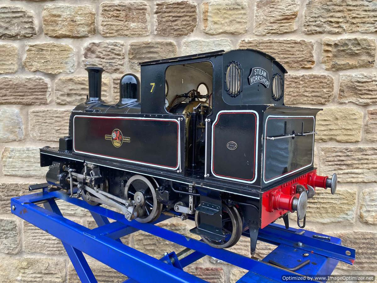test 7 and a quarter inch Bridget live steam for sale (13)