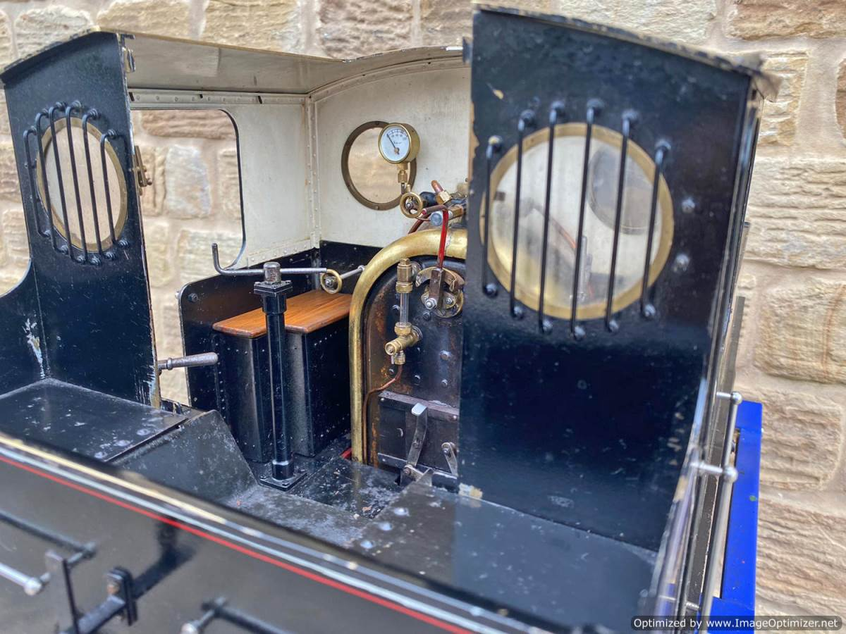 test 7 and a quarter inch Bridget live steam for sale (24)