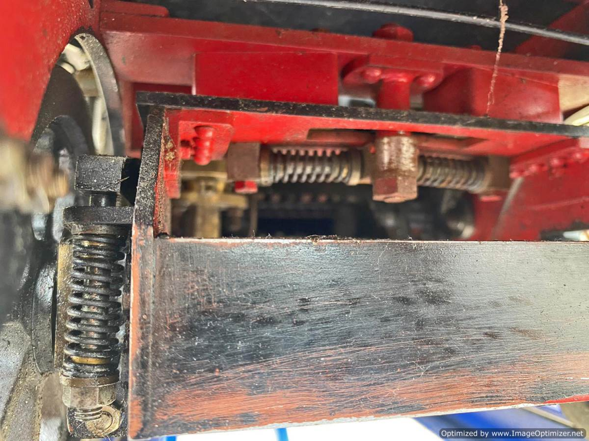 test 7 and a quarter inch Bridget live steam for sale (32)