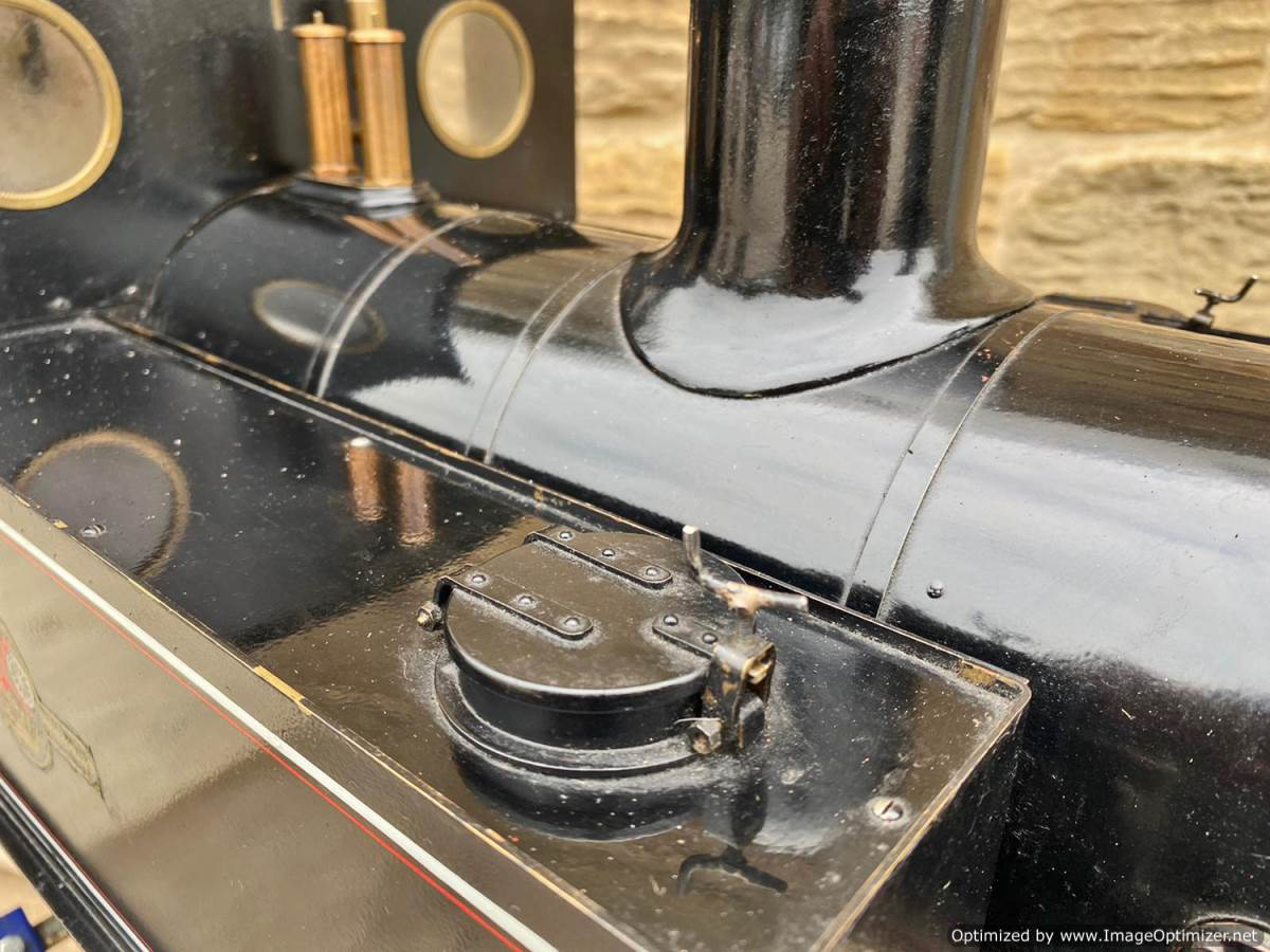 test 7 and a quarter inch Bridget live steam for sale (6)