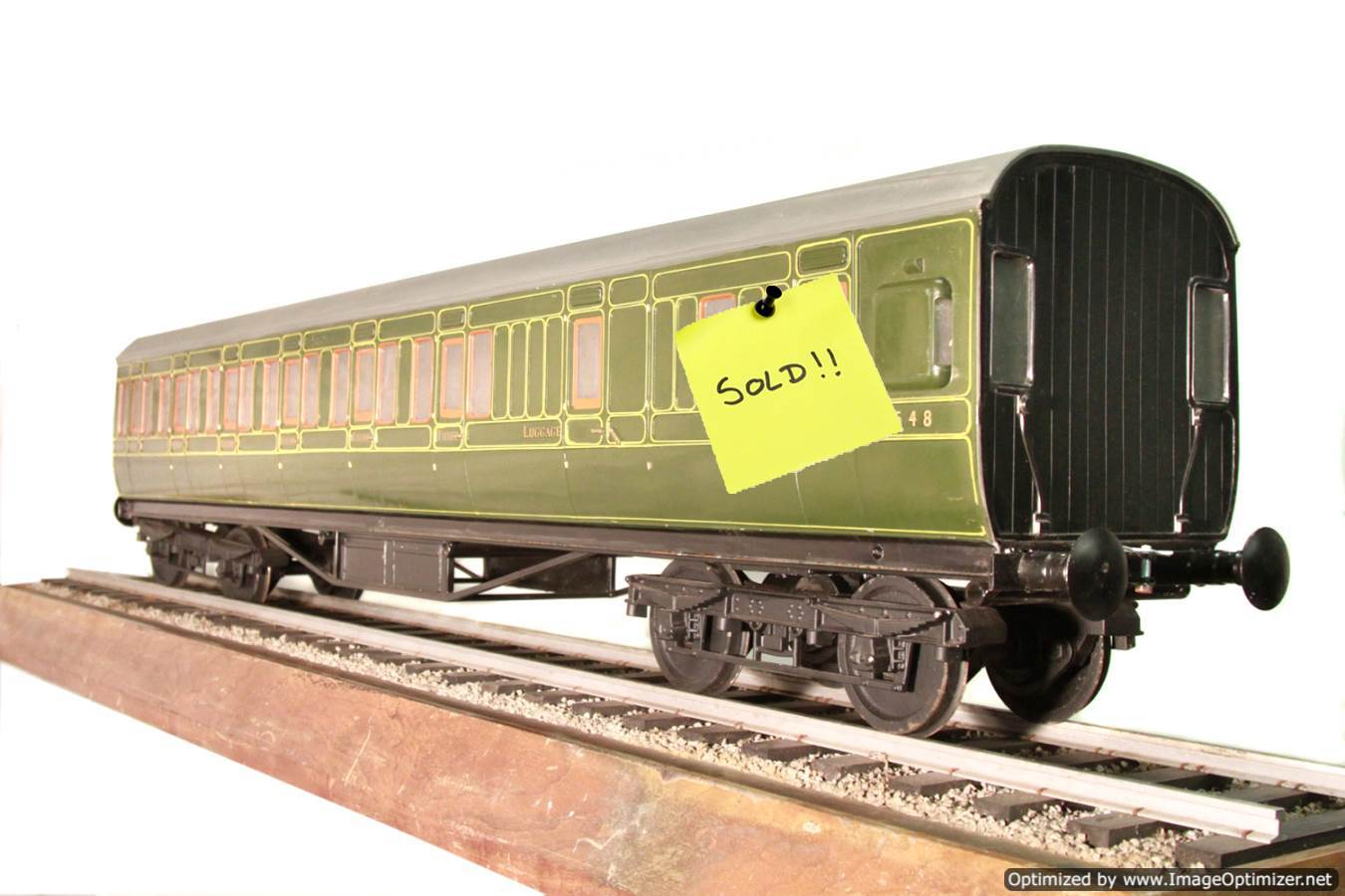 test Aristocraft-live-steam-wagon-SOLD