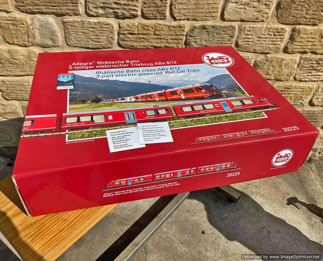 test LGB RhB Class ABe 'Allegra' 20225 Garden Railway for sale (2)