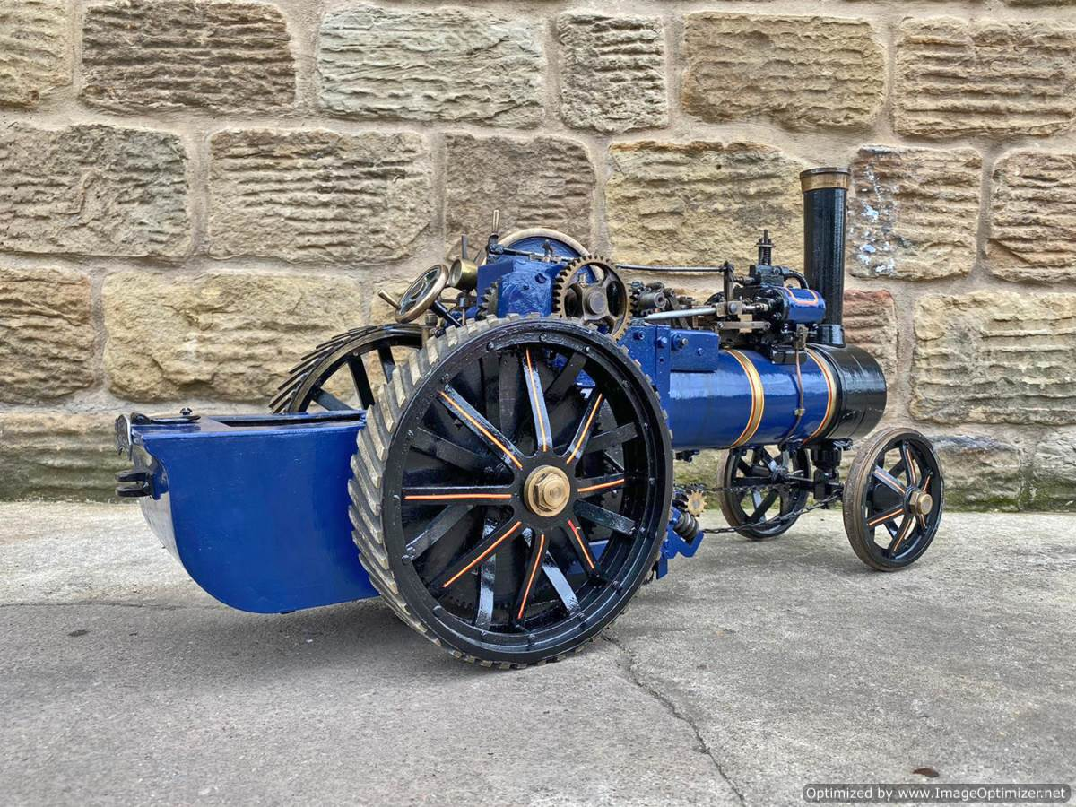 test 2 inch scale Freelance Traction Engine Live Steam For Sale (1)