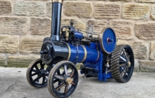 test 2″ DC Traction Engine