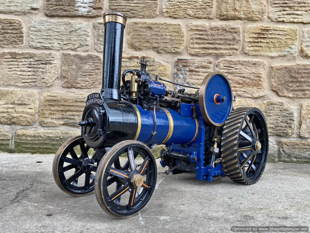 test 2 inch scale Freelance Traction Engine Live Steam For Sale (2)