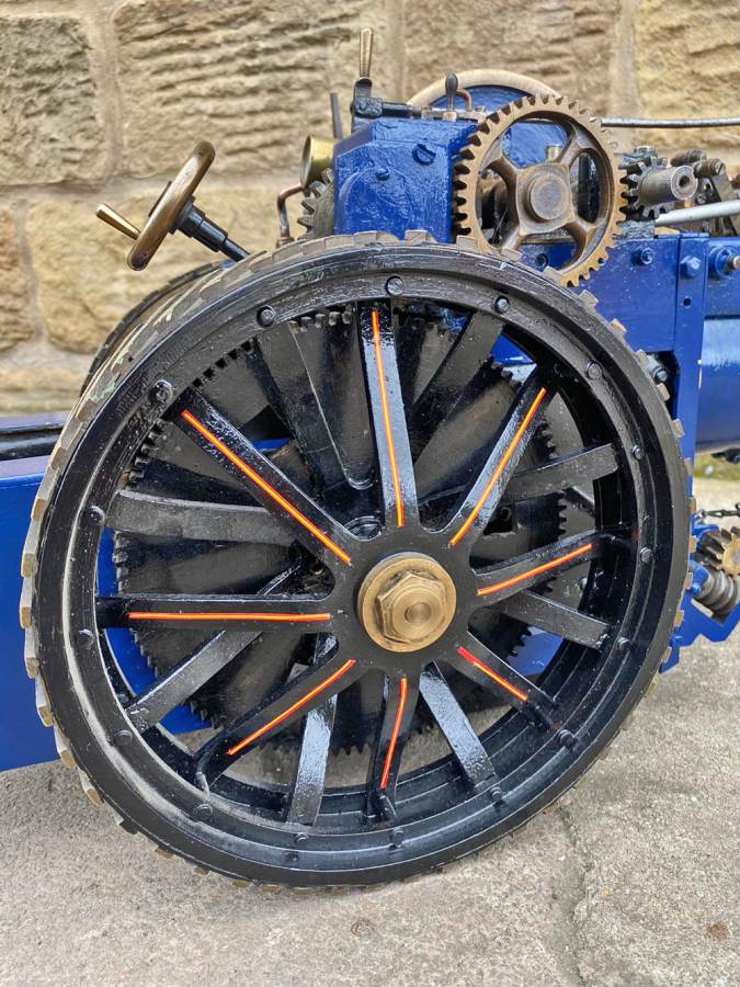 test 2 inch scale Freelance Traction Engine Live Steam For Sale (3)