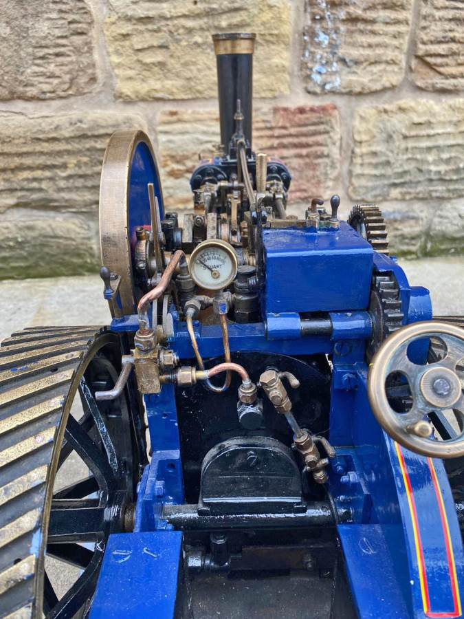 test 2 inch scale Freelance Traction Engine Live Steam For Sale (9)