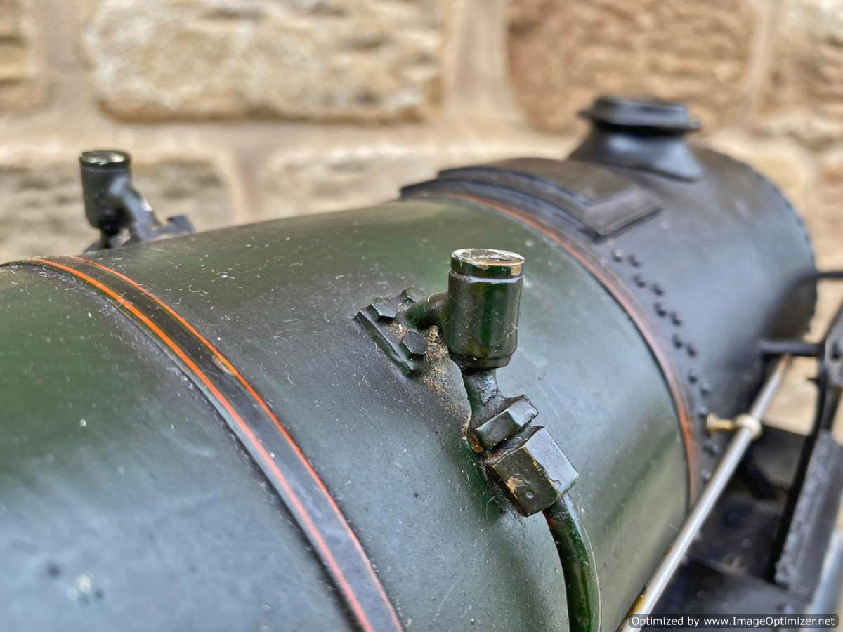 test 3 and a half inch BR Britannia Live Steam Model for Sale (16)