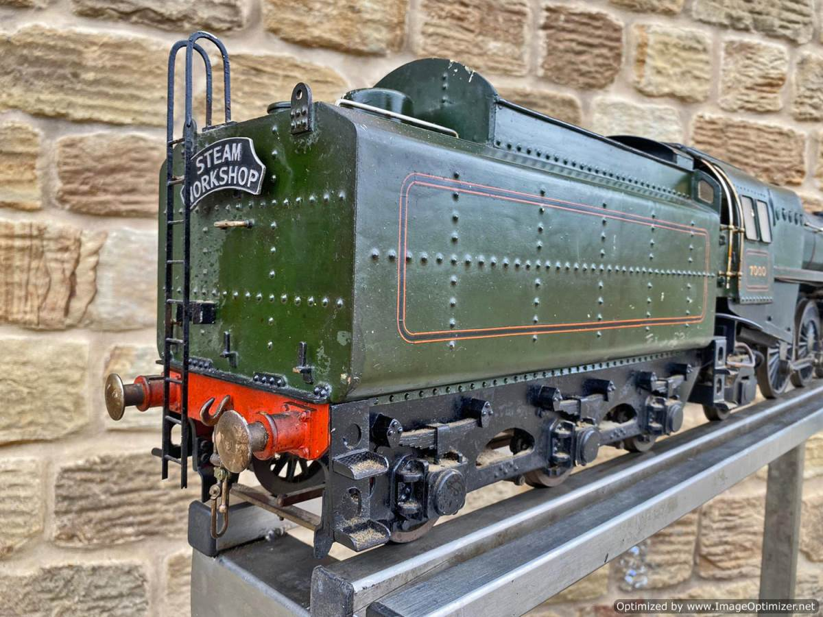 test 3 and a half inch BR Britannia Live Steam Model for Sale (17)