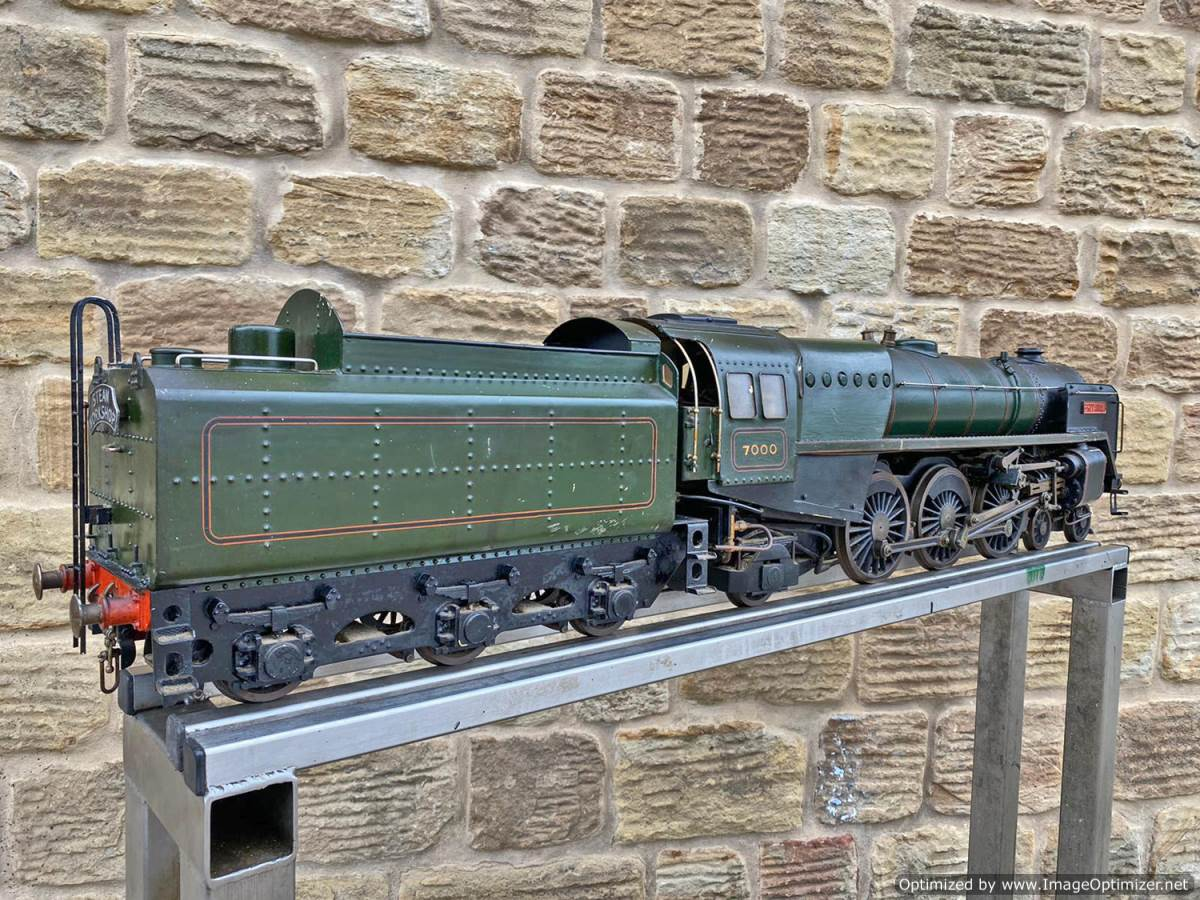 test 3 and a half inch BR Britannia Live Steam Model for Sale (20)