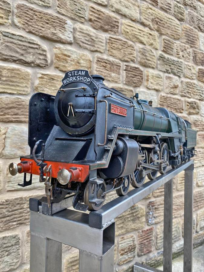 test 3 and a half inch BR Britannia Live Steam Model for Sale (21)