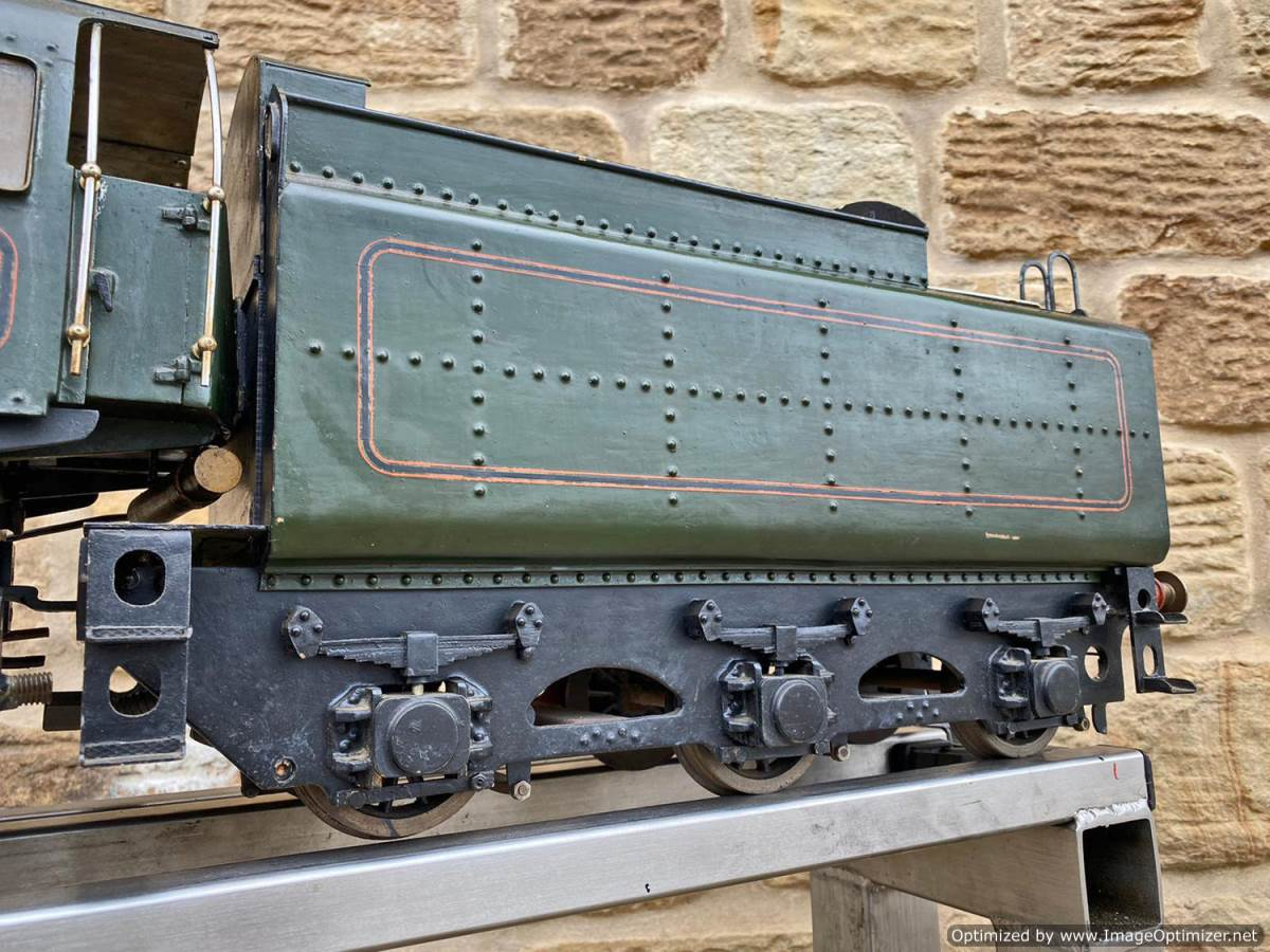 test 3 and a half inch BR Britannia Live Steam Model for Sale (23)