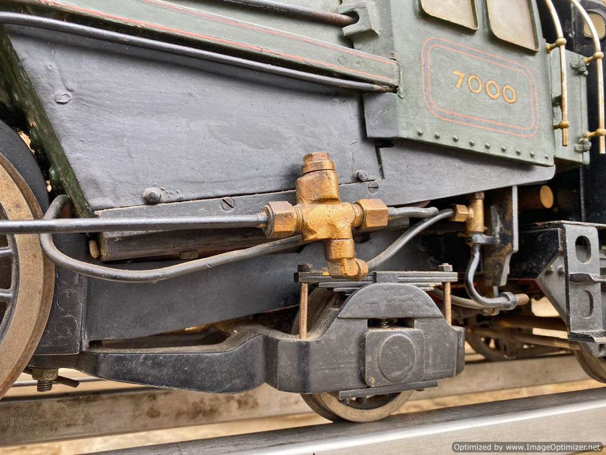 test 3 and a half inch BR Britannia Live Steam Model for Sale (25)