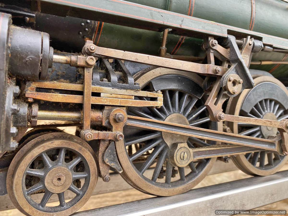 test 3 and a half inch BR Britannia Live Steam Model for Sale (26)