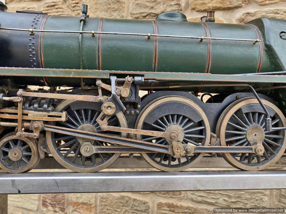 test 3 and a half inch BR Britannia Live Steam Model for Sale (27)