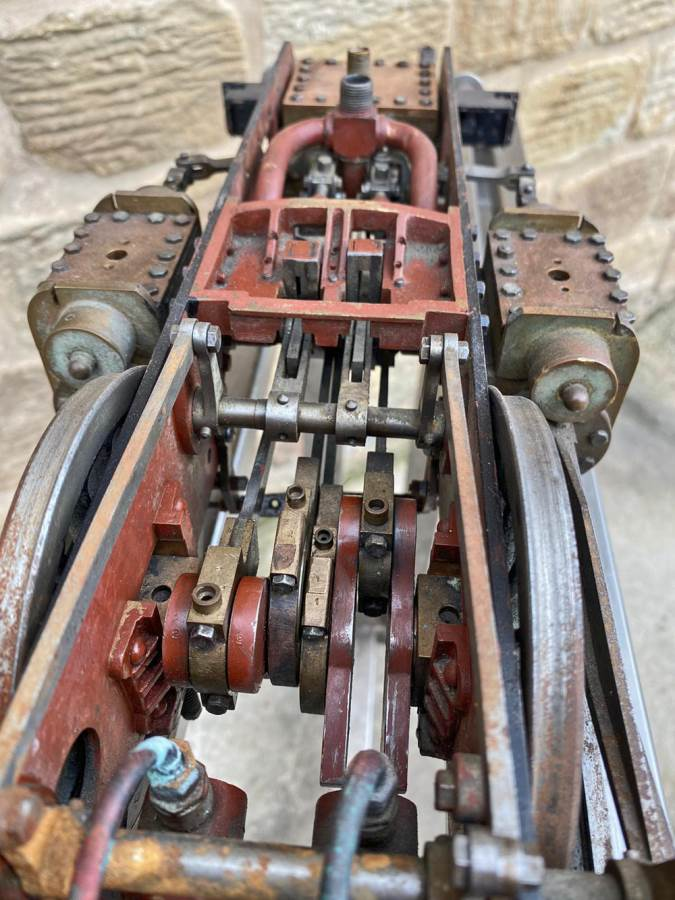 test 3 and a half inch Gauge GWR King Part Built Live Steam Loco for Sale (10)