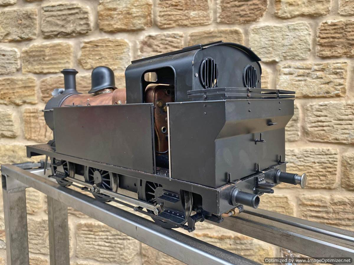 test 3 and a half inch LMS Jinty 3F Live Steam Locomotive for sale (16)