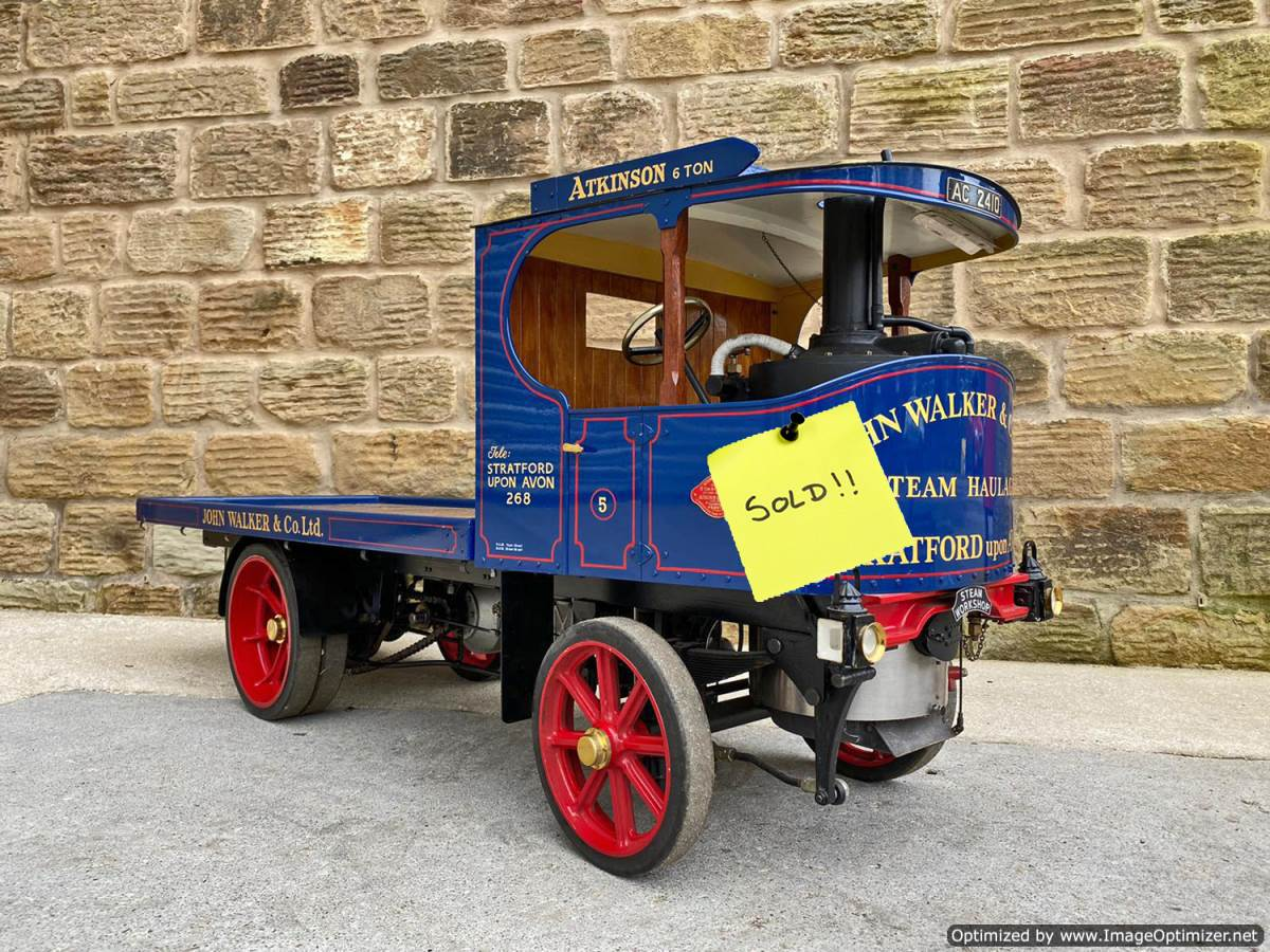 test 3-inch-Atkinson-Live-Steam-Lorry-SOLD