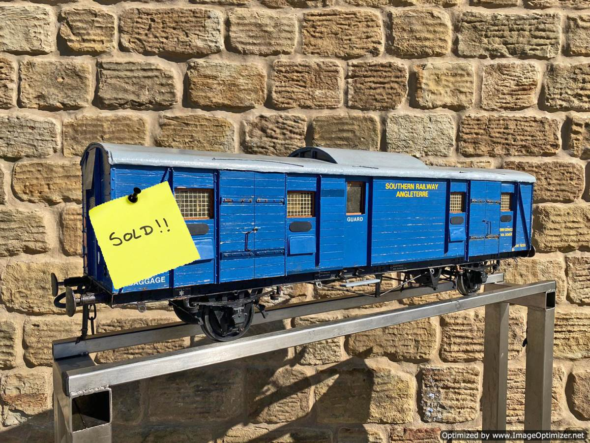 test 5-inch-Fish-Train-Van-Live-Steam-SOLD