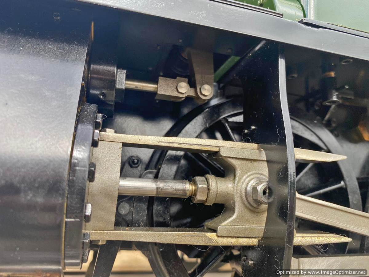 test 5 inch GWR Prarie Kingscale live steam locomotive for sale (12)