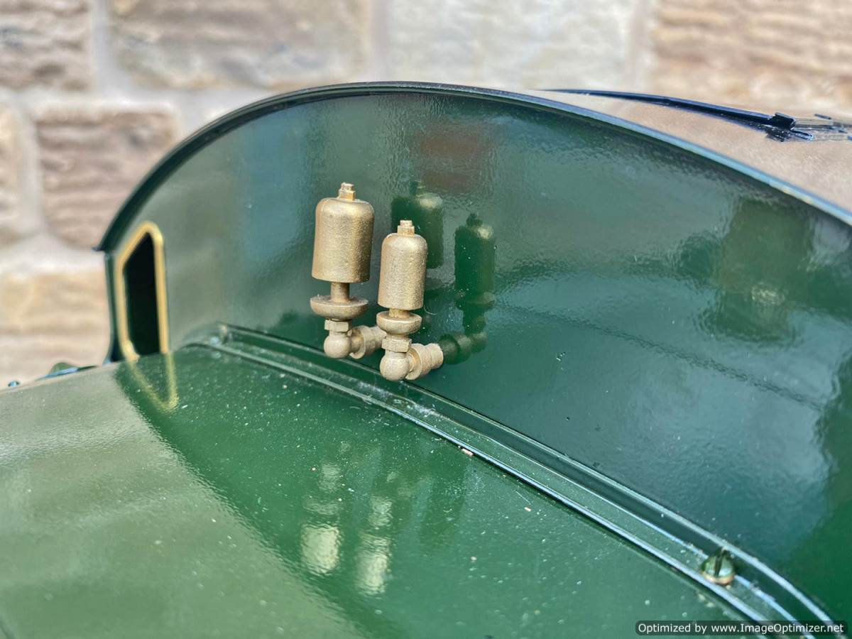 test 5 inch GWR Prarie Kingscale live steam locomotive for sale (16)