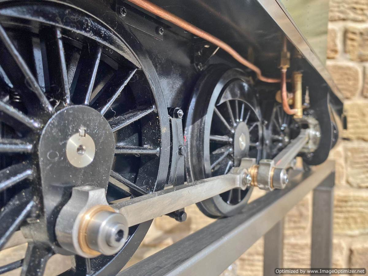 test 5 inch GWR Prarie Kingscale live steam locomotive for sale (2)