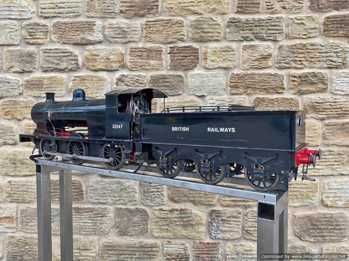 test 5 inch LBSC Minx Live Steam Locomotive for sale (10)