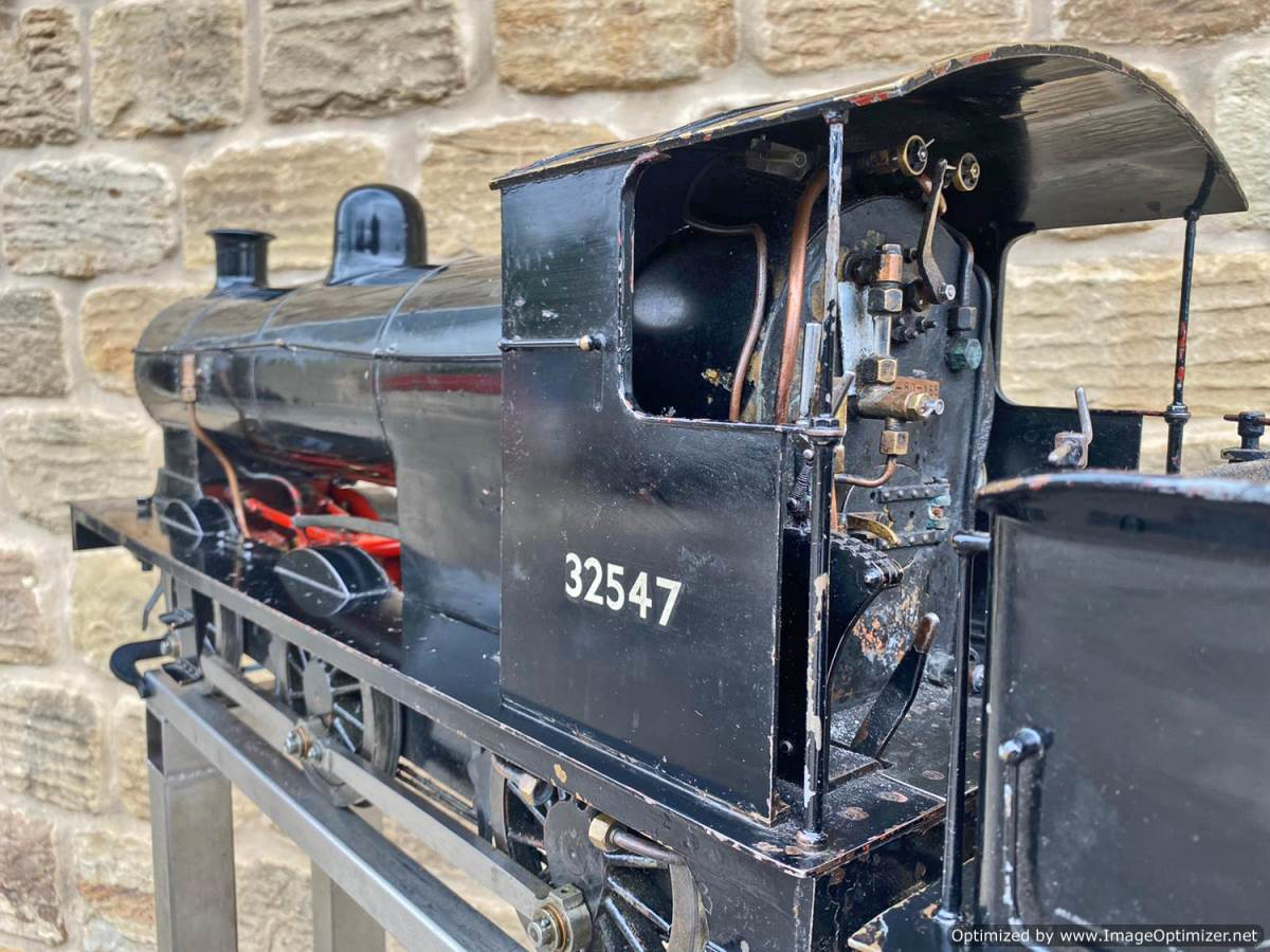 test 5 inch LBSC Minx Live Steam Locomotive for sale (11)