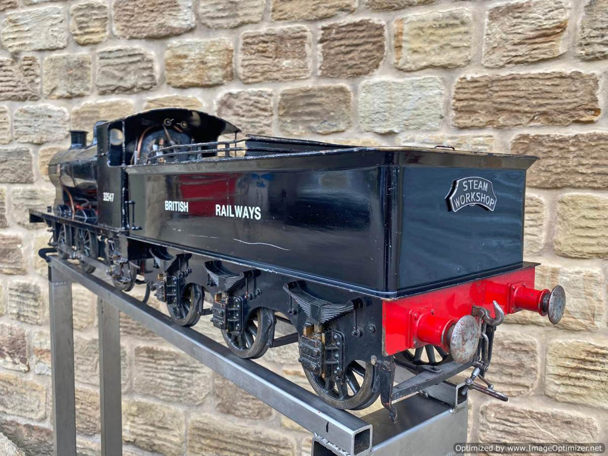 test 5 inch LBSC Minx Live Steam Locomotive for sale (8)