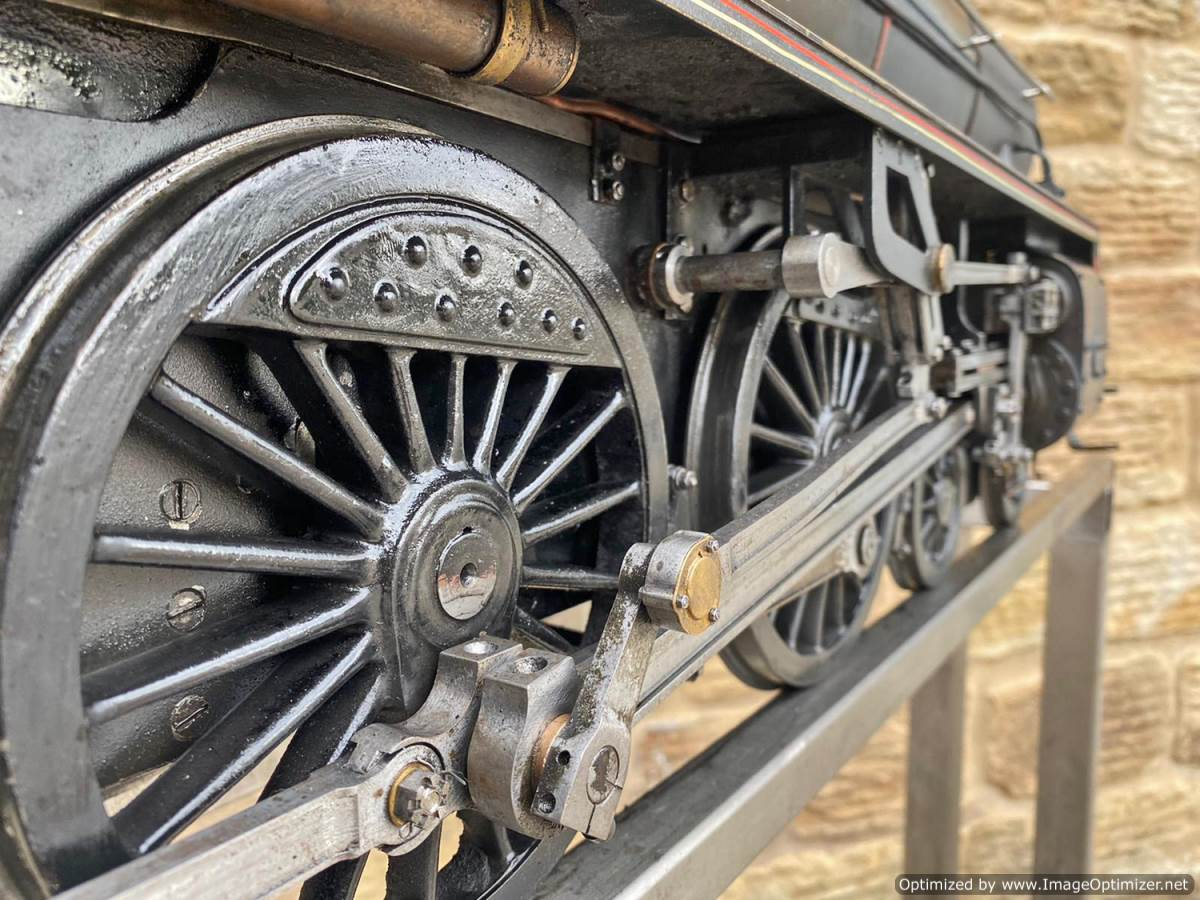 test 5 inch LNER B1 Live Steam Locomotive For Sale (10)