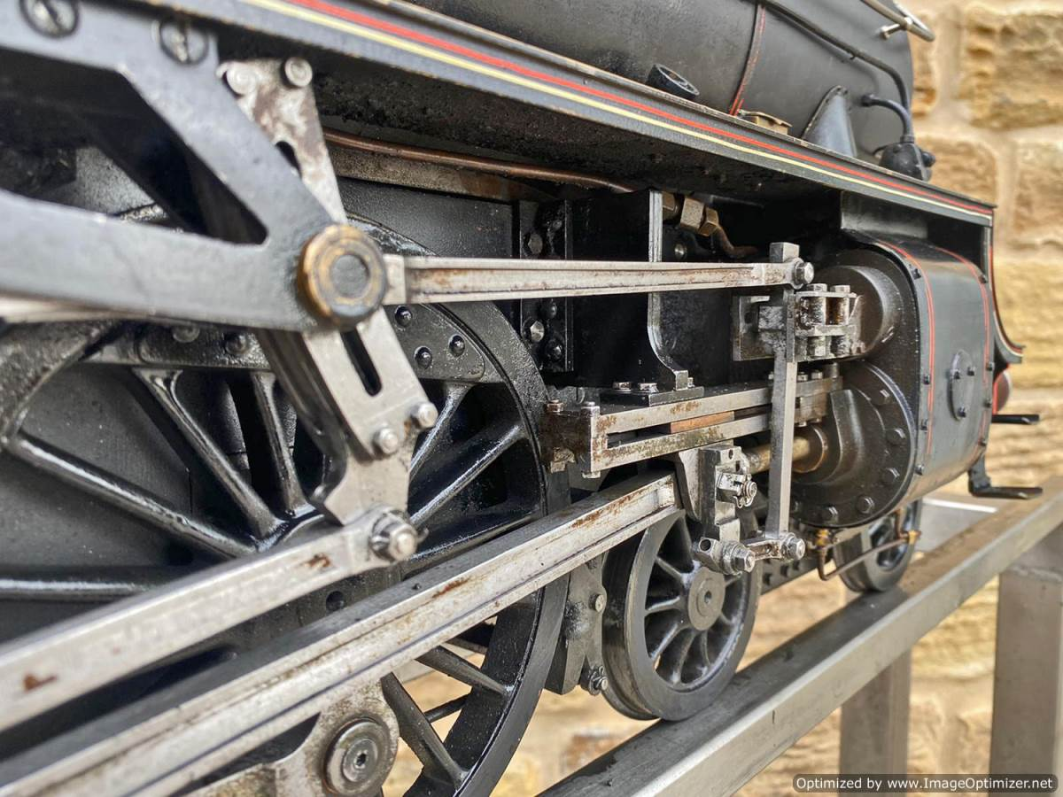 test 5 inch LNER B1 Live Steam Locomotive For Sale (14)
