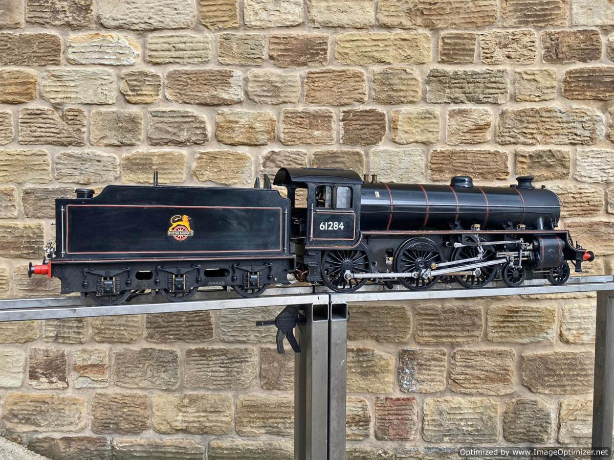 test 5 inch LNER B1 Live Steam Locomotive For Sale (25)