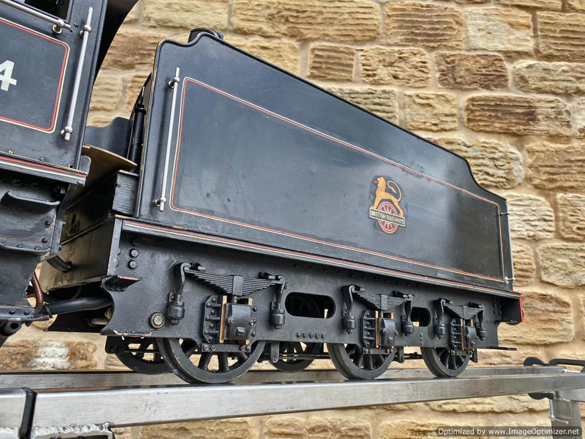 test 5 inch LNER B1 Live Steam Locomotive For Sale (8)