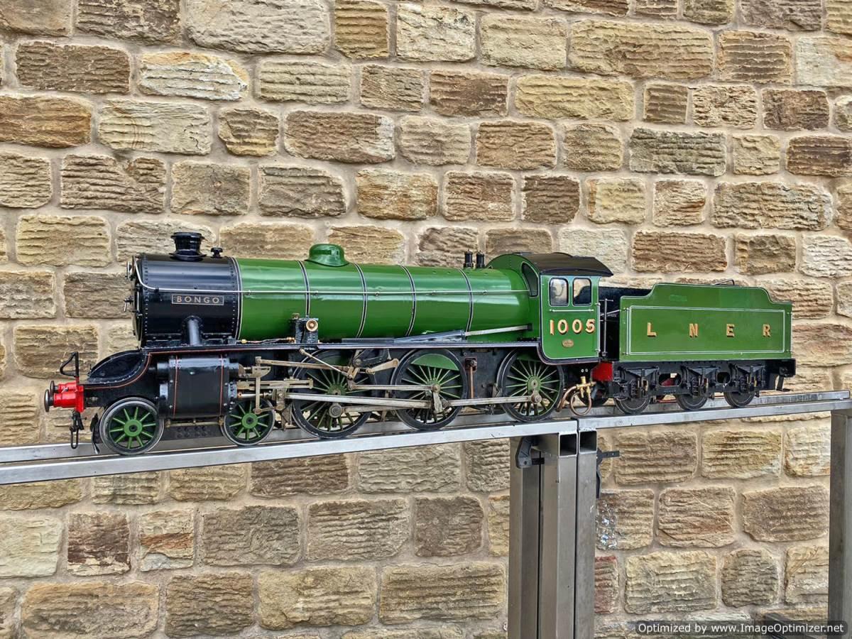 test 5 inch LNER B1 Springbok Live Steam for Sale (1)
