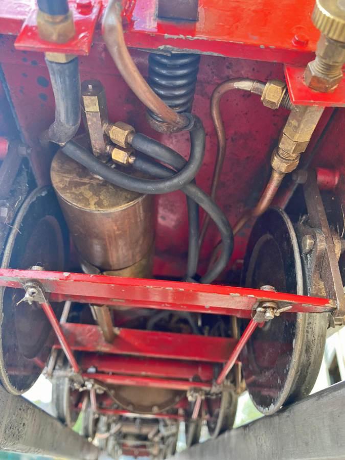 test 5 inch LNER B1 Springbok Live Steam for Sale (12)