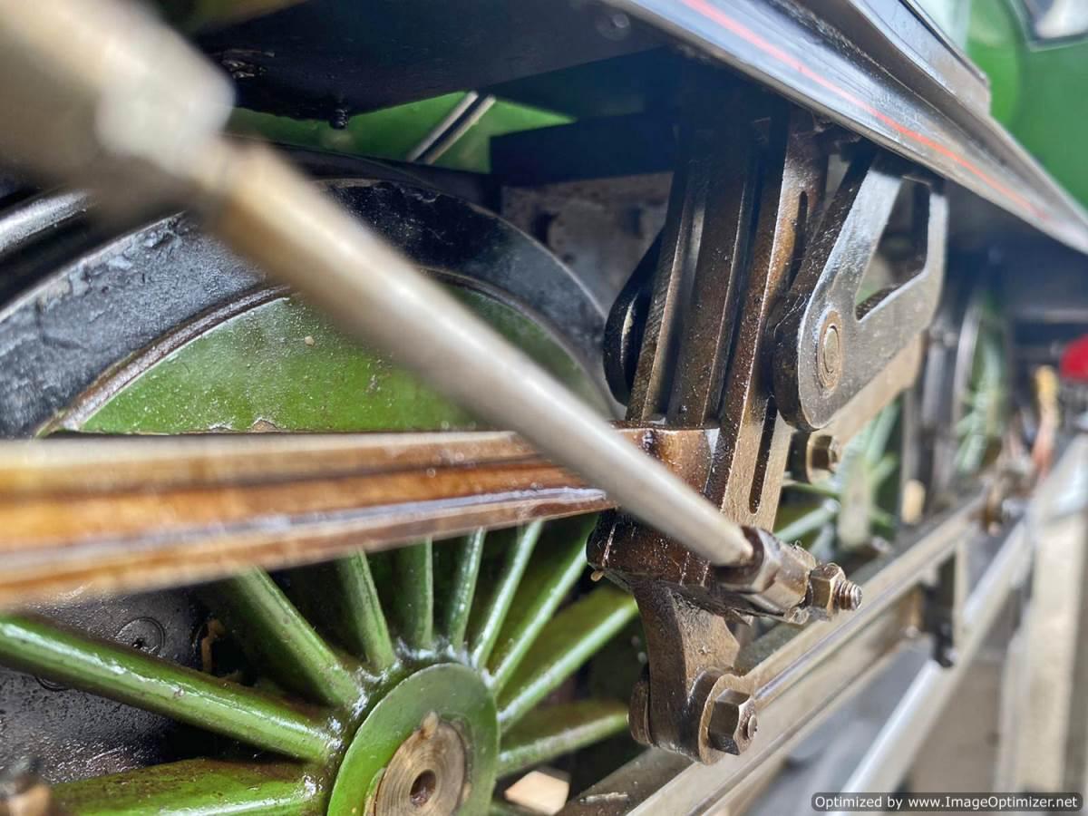 test 5 inch LNER B1 Springbok Live Steam for Sale (14)