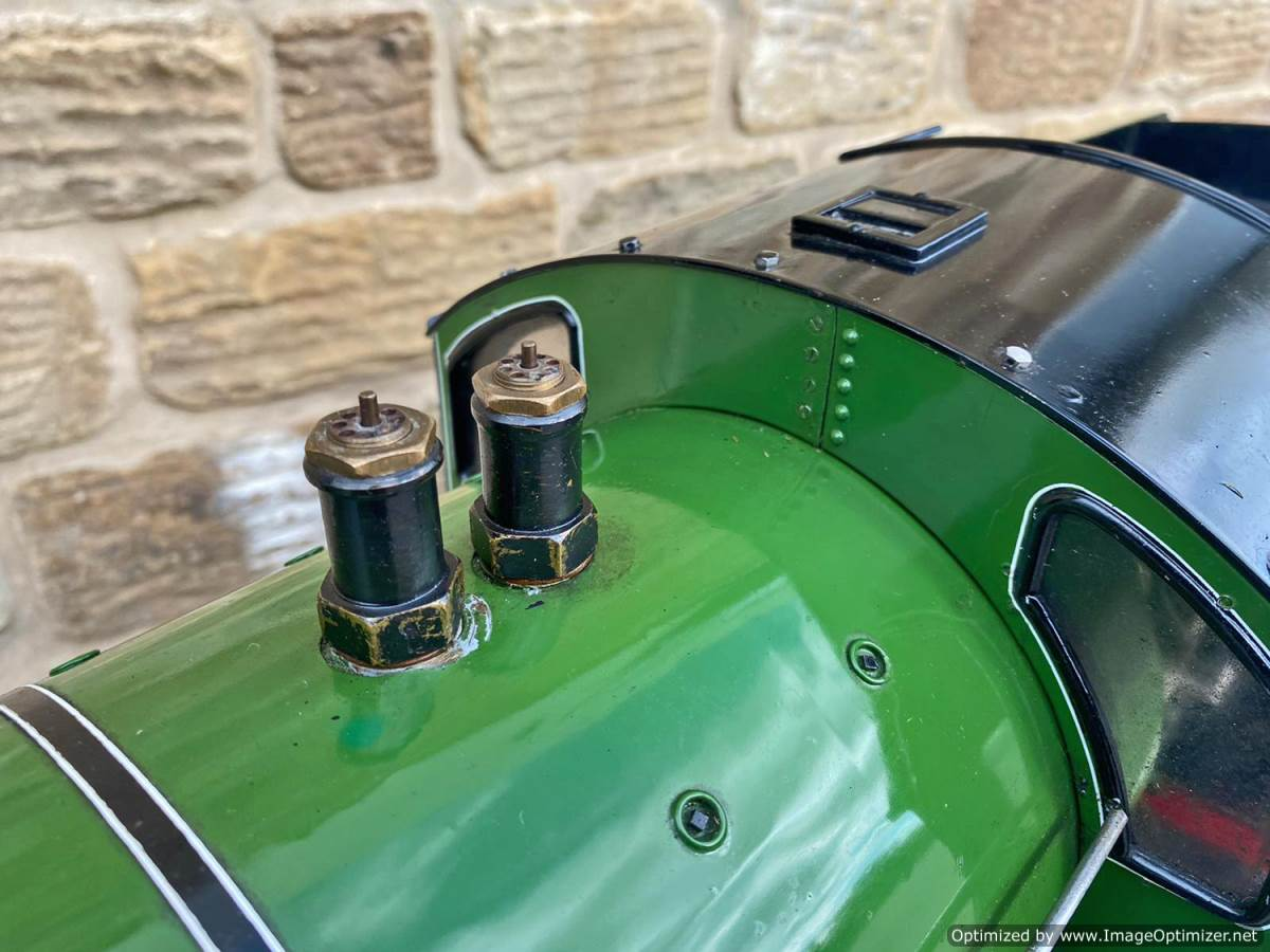 test 5 inch LNER B1 Springbok Live Steam for Sale (16)