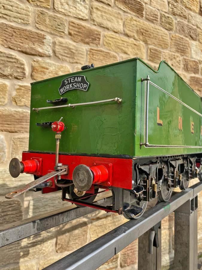 test 5 inch LNER B1 Springbok Live Steam for Sale (17)