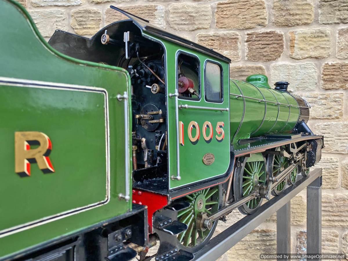test 5 inch LNER B1 Springbok Live Steam for Sale (18)